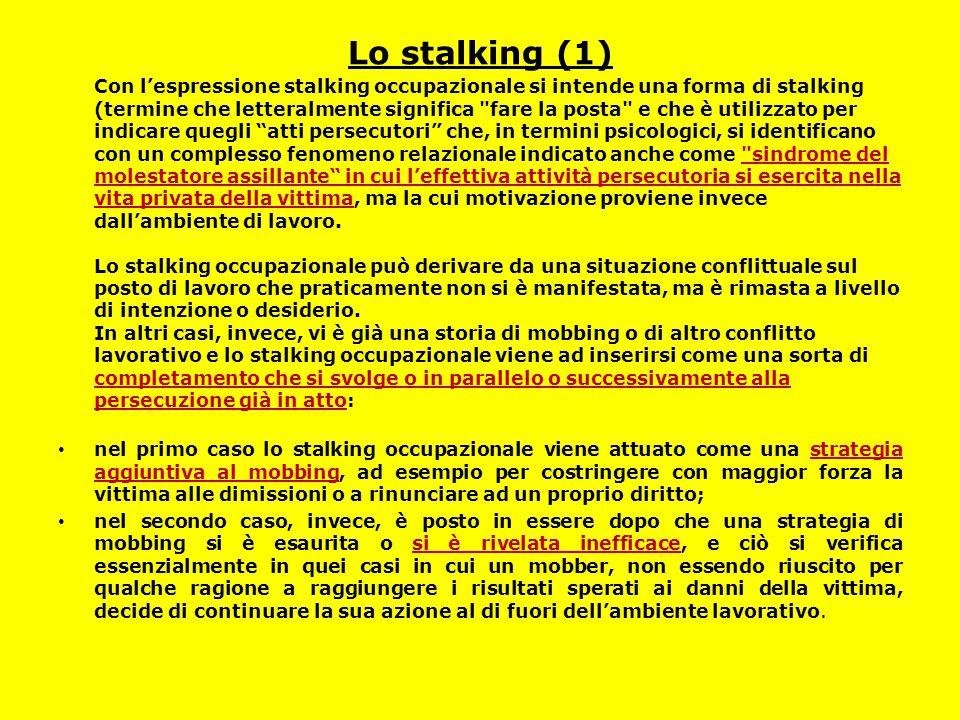 Lo stalking (1)