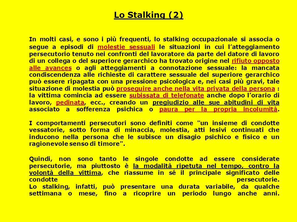 Lo Stalking (2)