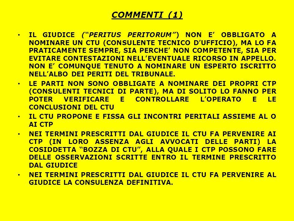 COMMENTI (1)