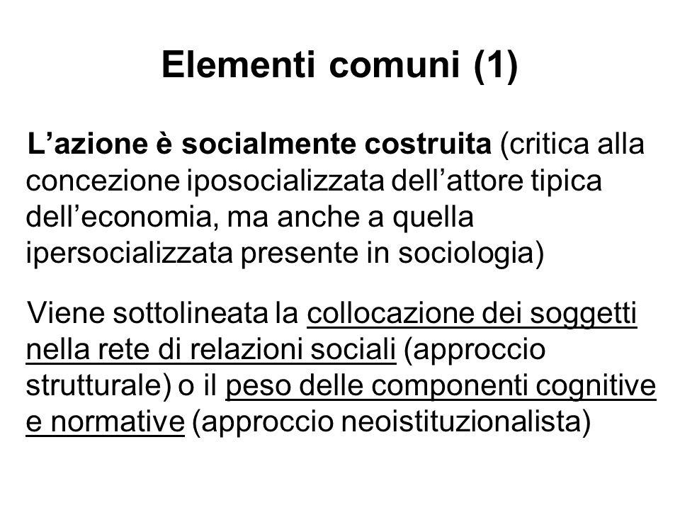 Elementi comuni (1)