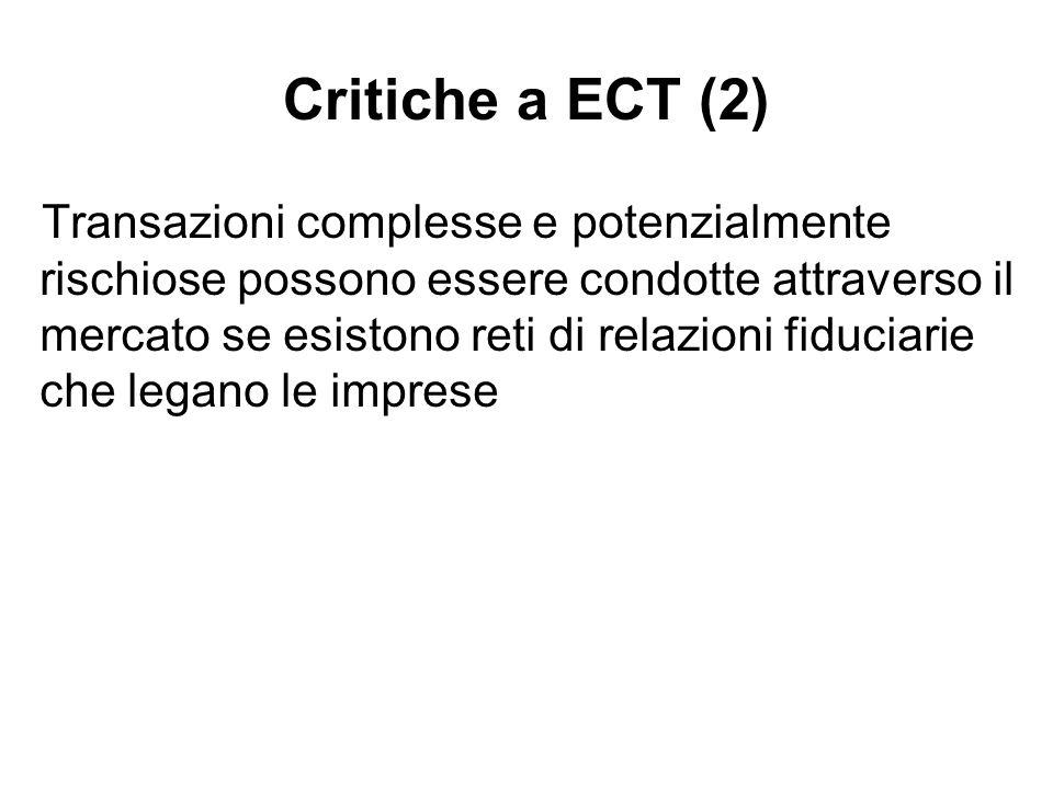 Critiche a ECT (2)