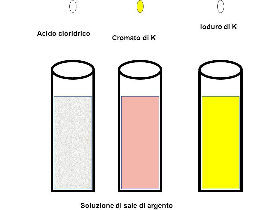 Soluzione di sale di argento