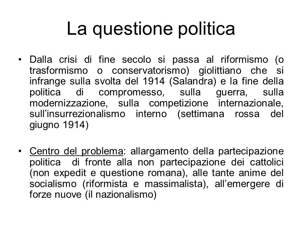 La questione politica