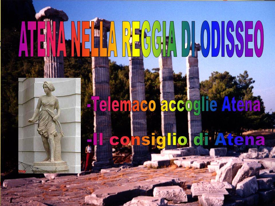 ATENA NELLA REGGIA DI ODISSEO