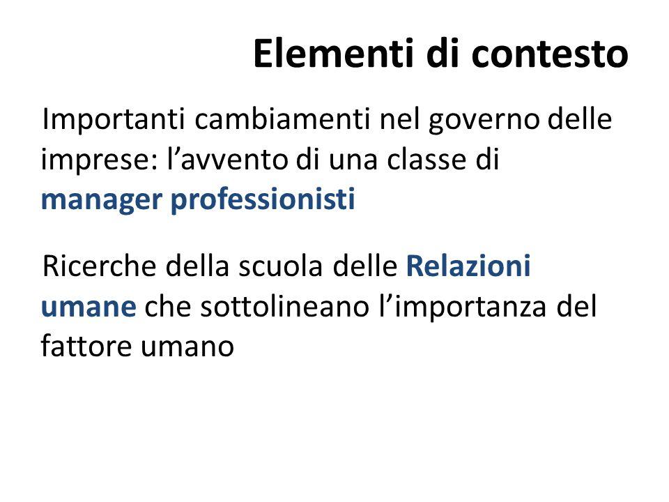 Elementi di contesto