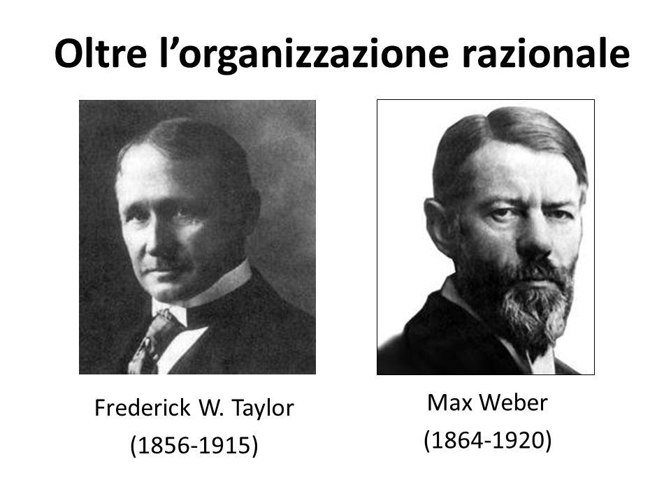 Oltre l'organizzazione razionale