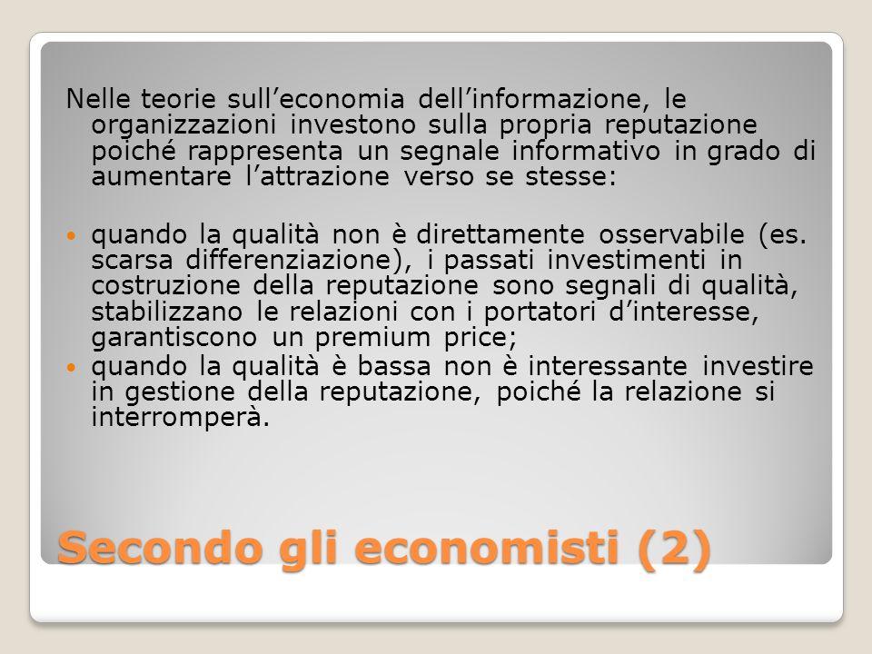 Secondo gli economisti (2)