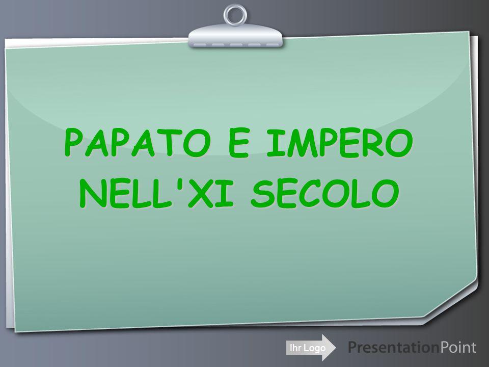 PAPATO E IMPERO NELL XI SECOLO