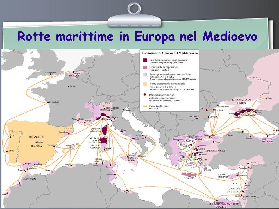 Rotte marittime in Europa nel Medioevo