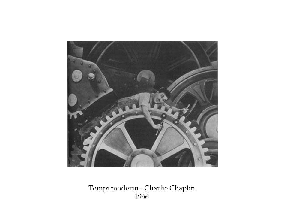Tempi moderni - Charlie Chaplin 1936