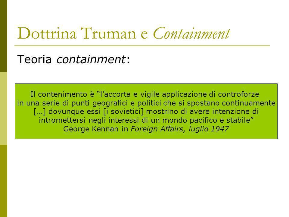 Dottrina Truman e Containment