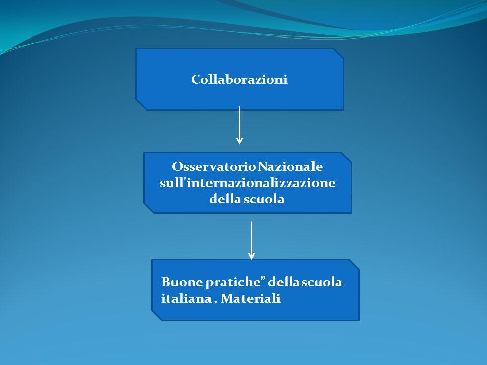 Osservatorio Nazionale sull internazionalizzazione della scuola