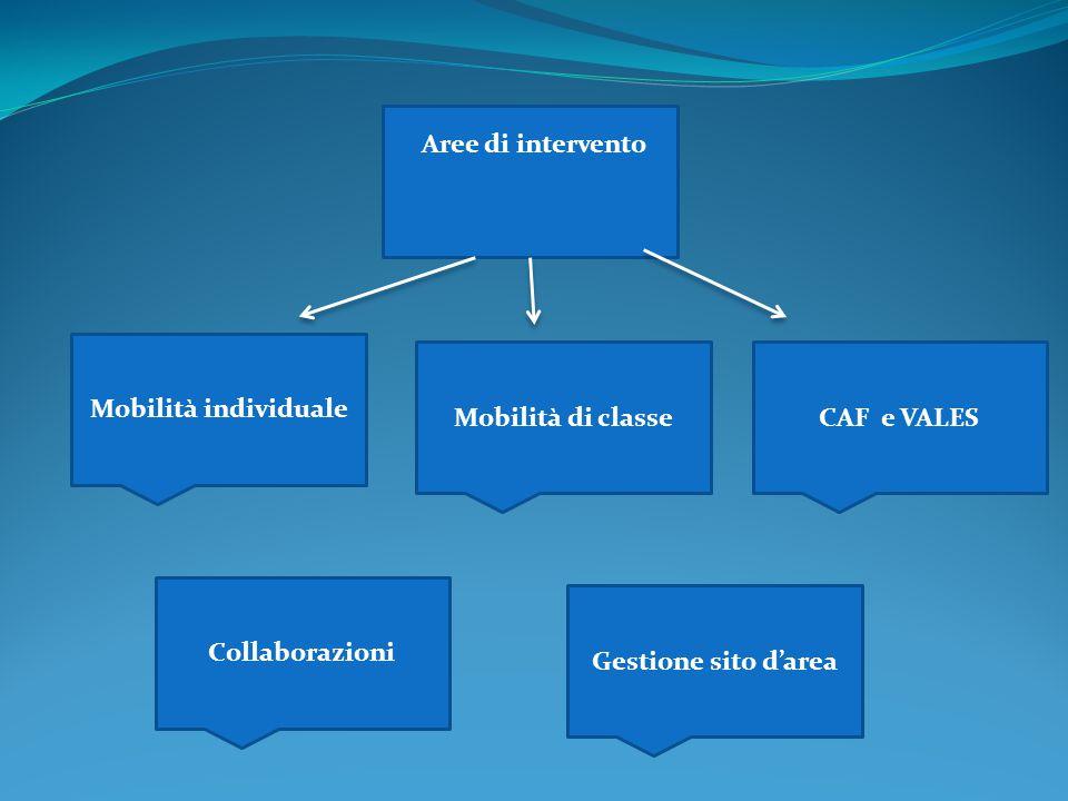 Aree di intervento Mobilità individuale. Mobilità di classe.