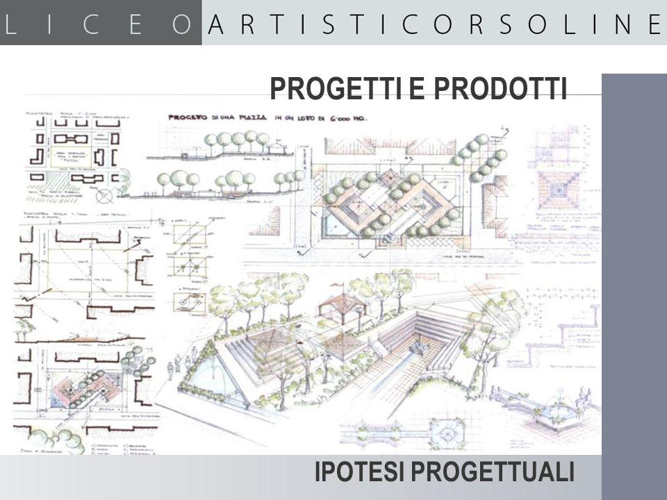PROGETTI E PRODOTTI Ipotesi progettuali IPOTESI PROGETTUALI