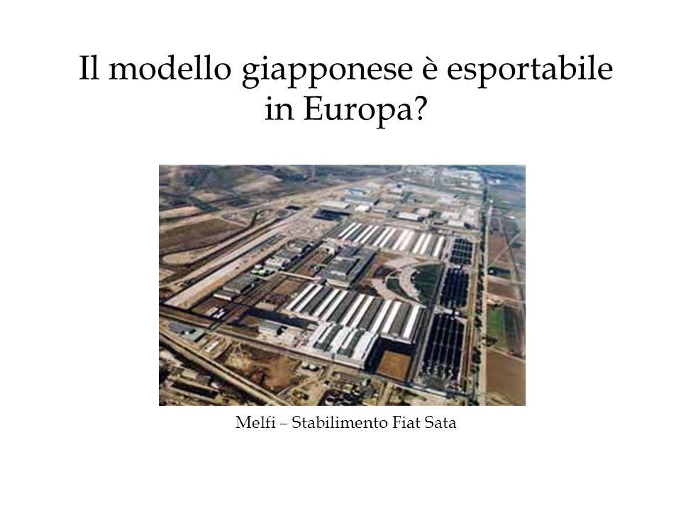 Il modello giapponese è esportabile in Europa