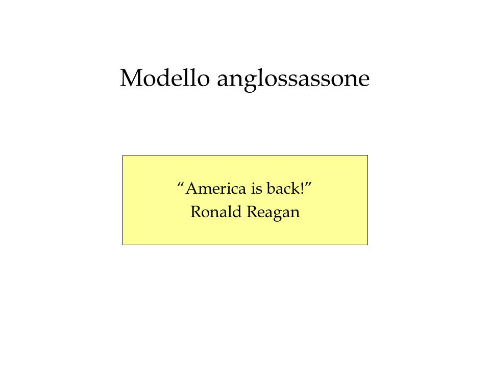 Modello anglossassone