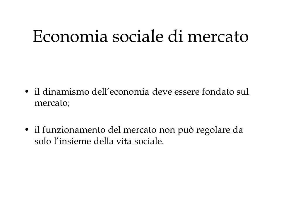 Economia sociale di mercato