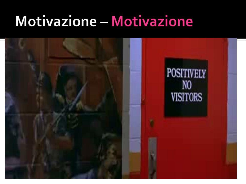 Motivazione – Motivazione