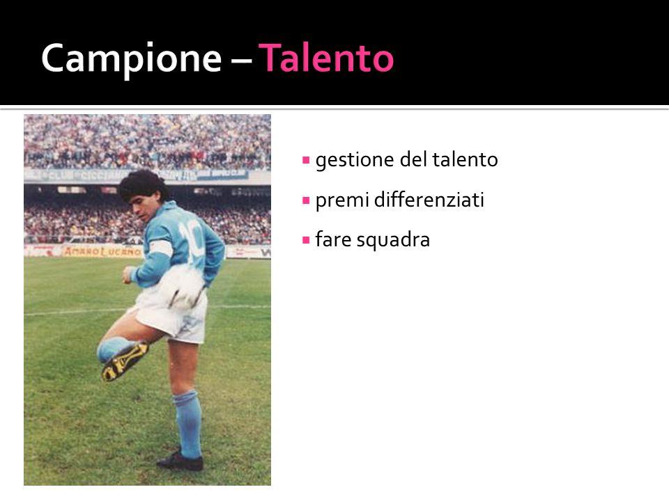 Campione – Talento gestione del talento premi differenziati