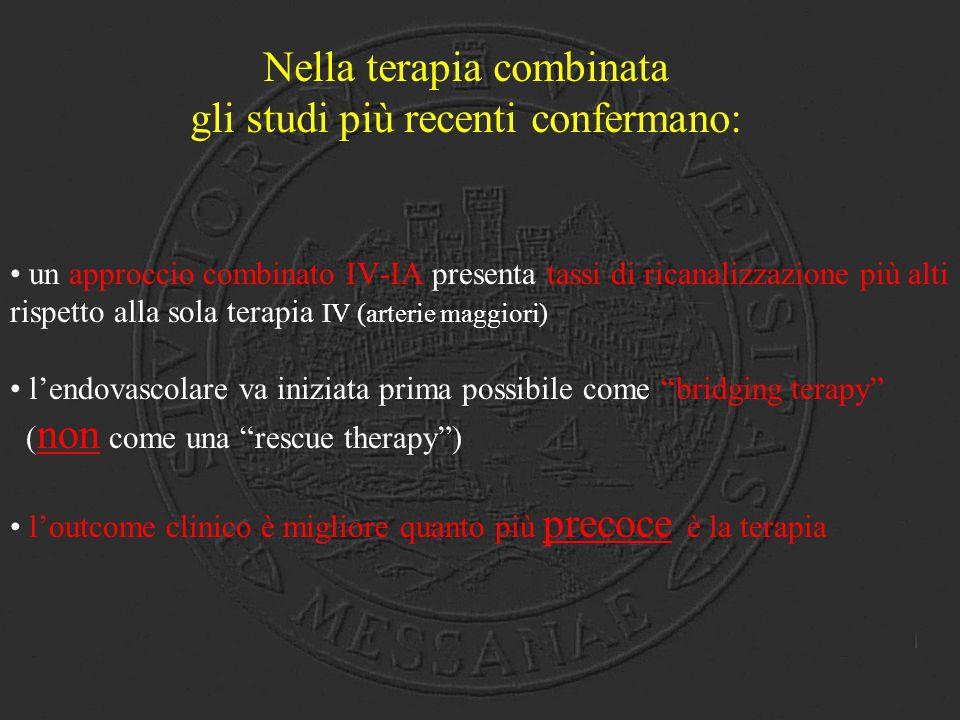 Nella terapia combinata gli studi più recenti confermano: