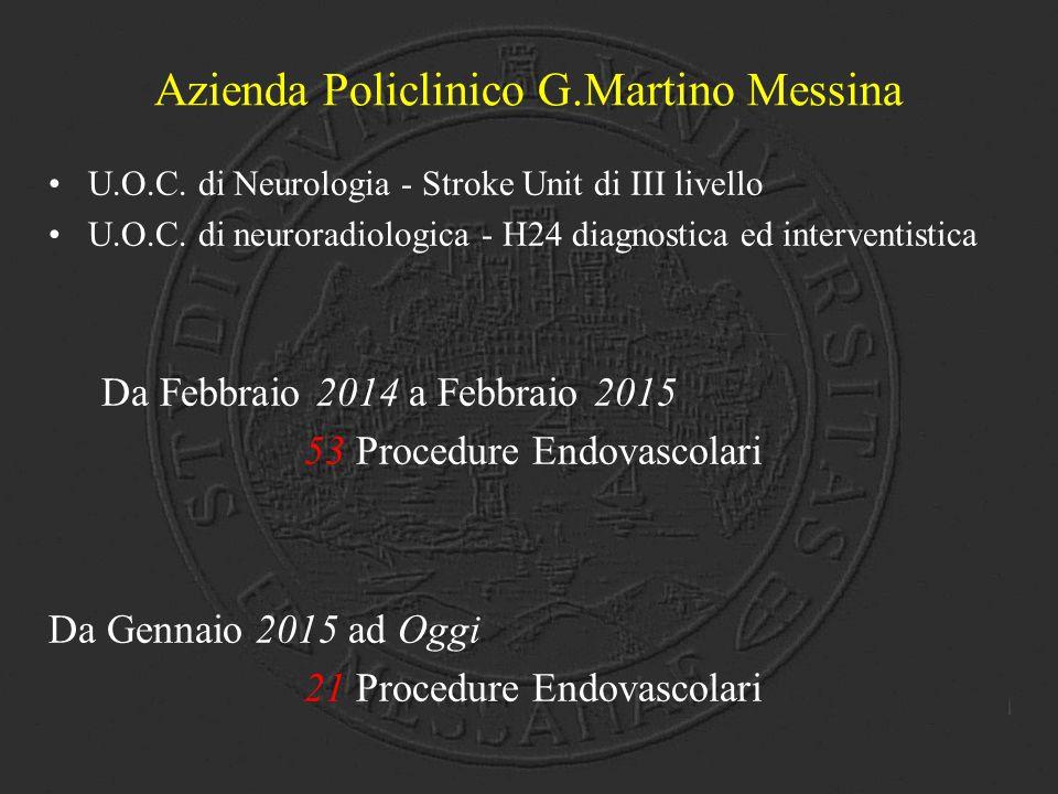 Azienda Policlinico G.Martino Messina