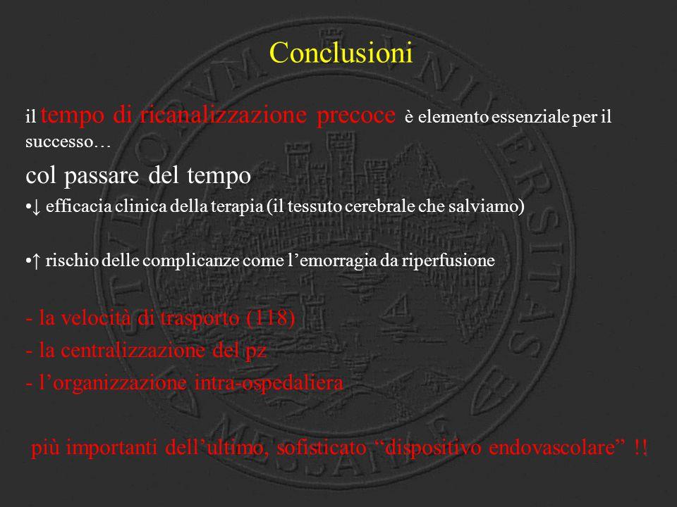 Conclusioni col passare del tempo - la velocità di trasporto (118)