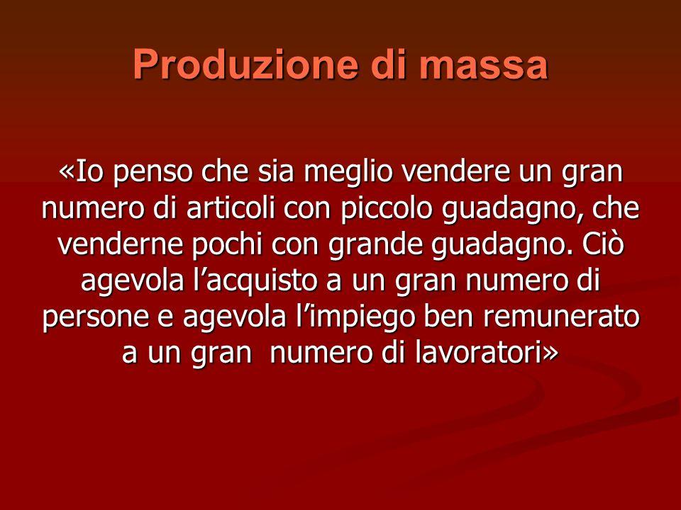 Produzione di massa