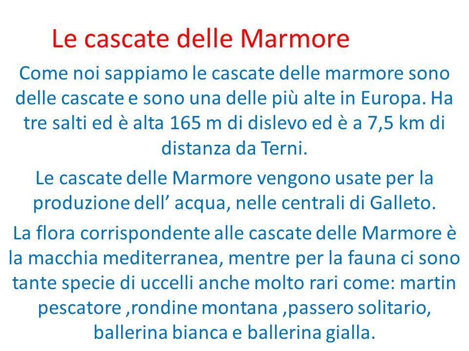 Le cascate delle Marmore