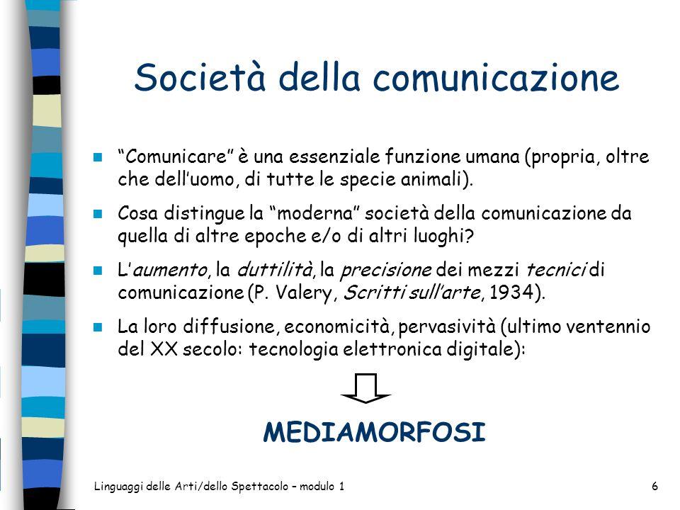 Società della comunicazione