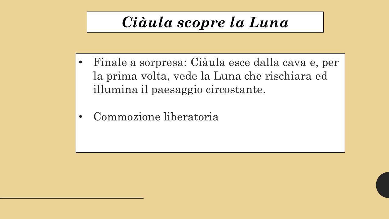 Ciàula scopre la Luna