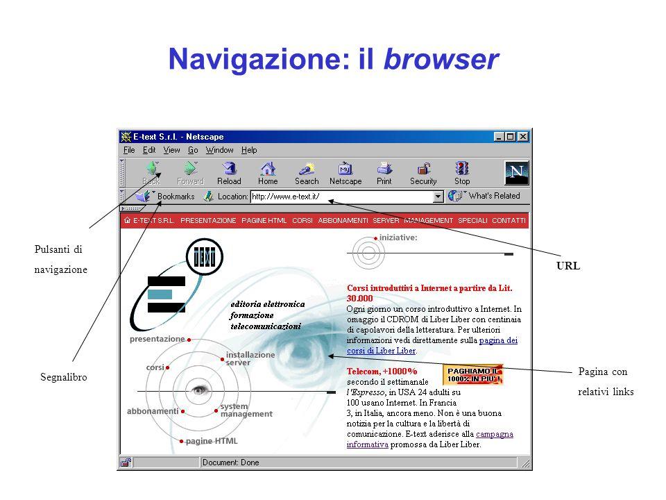 Navigazione: il browser