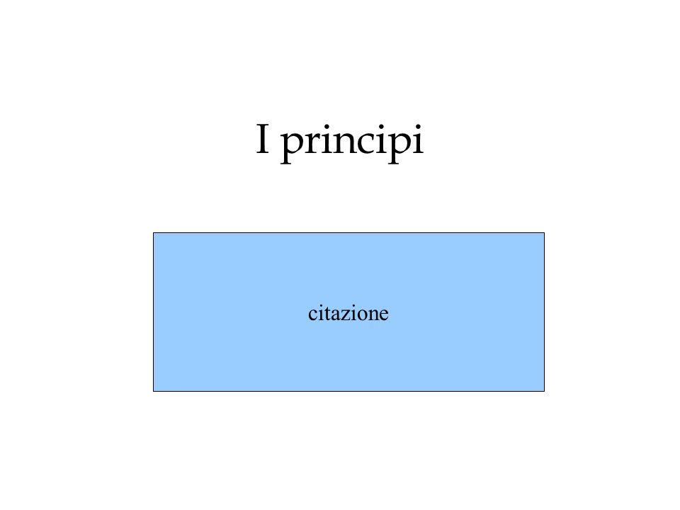 I principi citazione