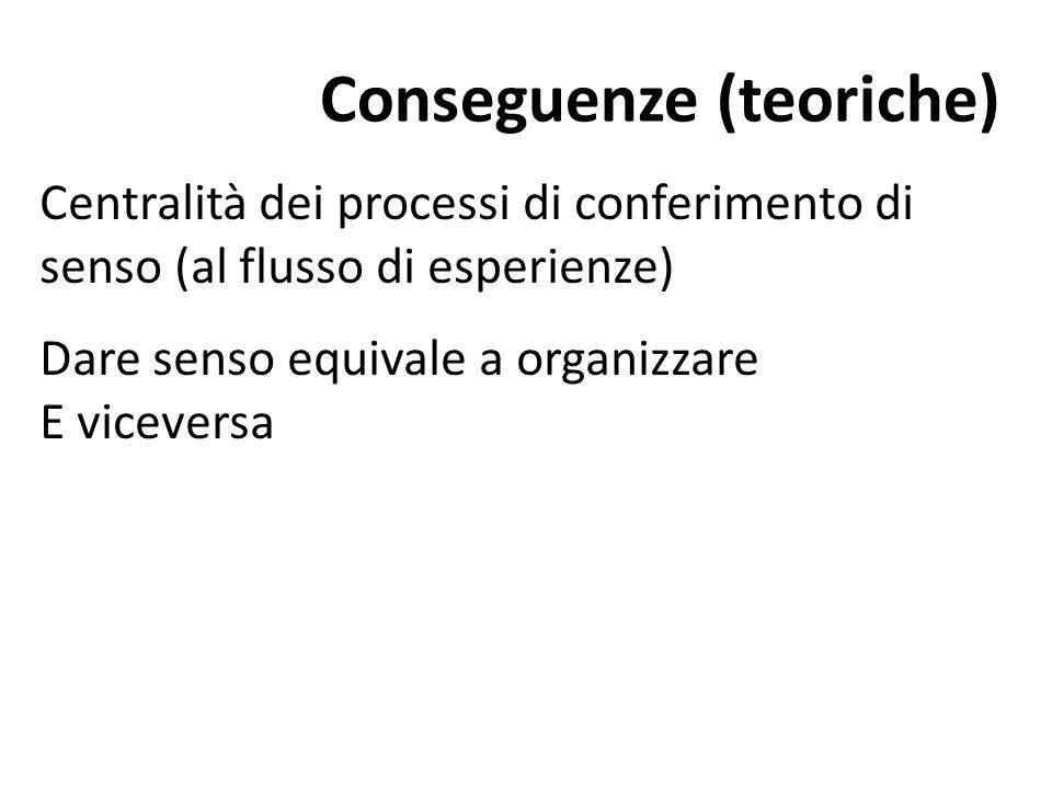 Conseguenze (teoriche)