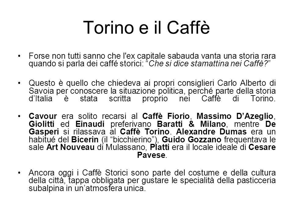 Torino e il Caffè