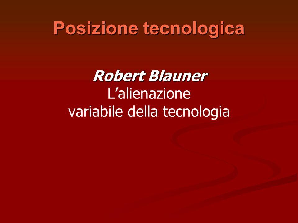 Posizione tecnologica