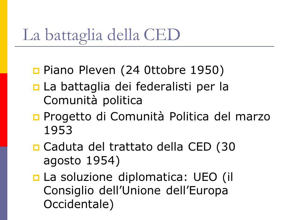 La battaglia della CED Piano Pleven (24 0ttobre 1950)