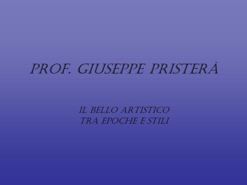 Prof. Giuseppe Pristerà