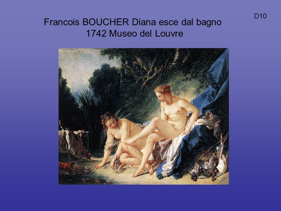 Francois BOUCHER Diana esce dal bagno