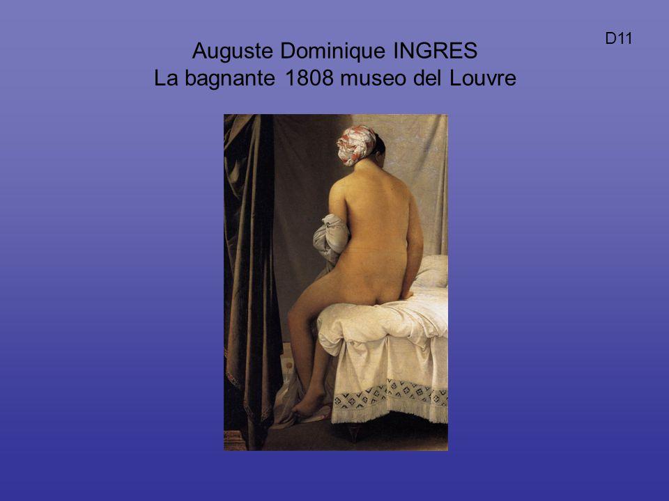 Auguste Dominique INGRES La bagnante 1808 museo del Louvre