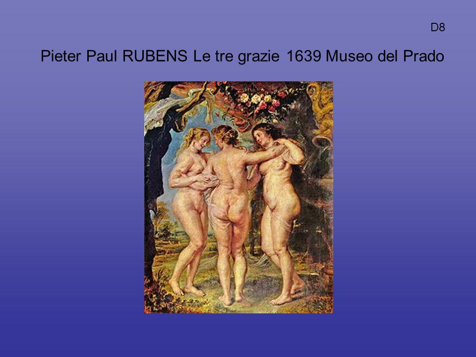 Pieter Paul RUBENS Le tre grazie 1639 Museo del Prado