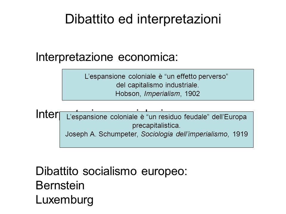 Dibattito ed interpretazioni