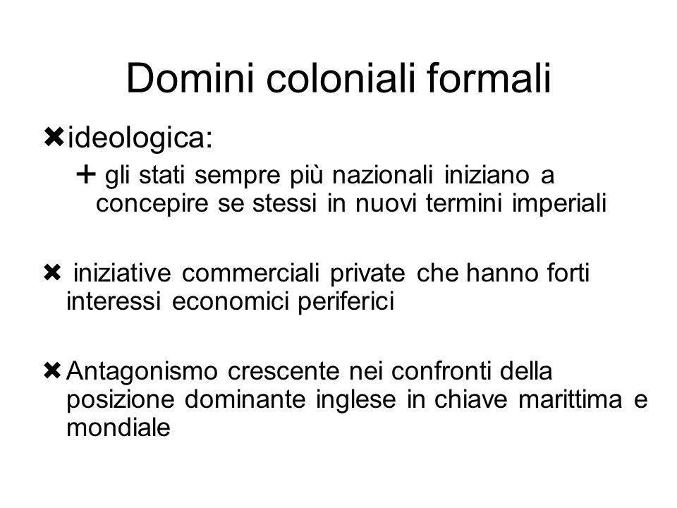 Domini coloniali formali