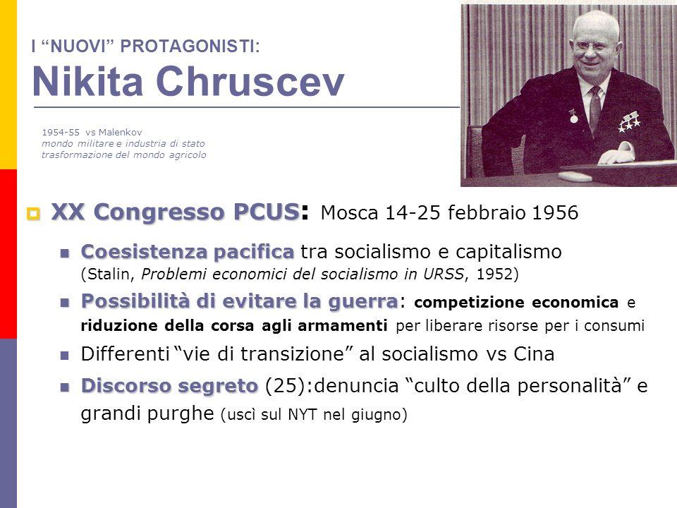 I NUOVI PROTAGONISTI: Nikita Chruscev