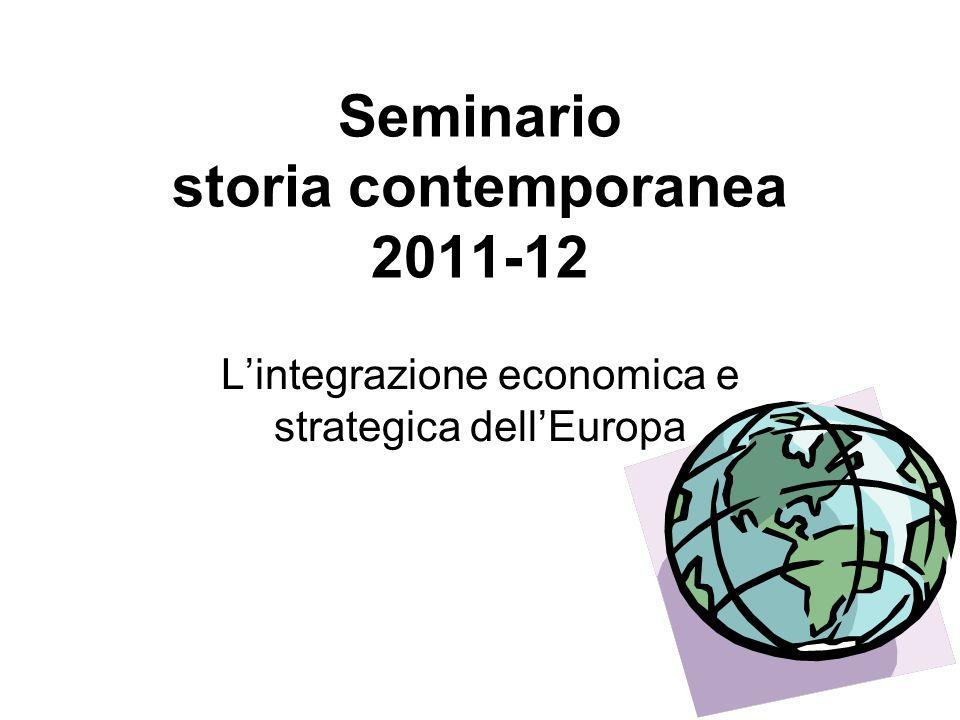 Seminario storia contemporanea 2011-12