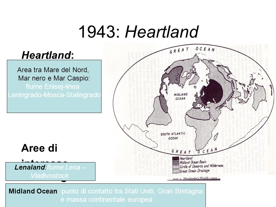 1943: Heartland Heartland: Aree di interesse strategico: