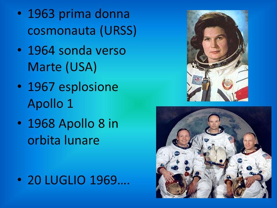 1963 prima donna cosmonauta (URSS)