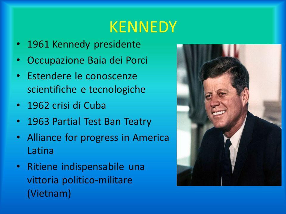 KENNEDY 1961 Kennedy presidente Occupazione Baia dei Porci