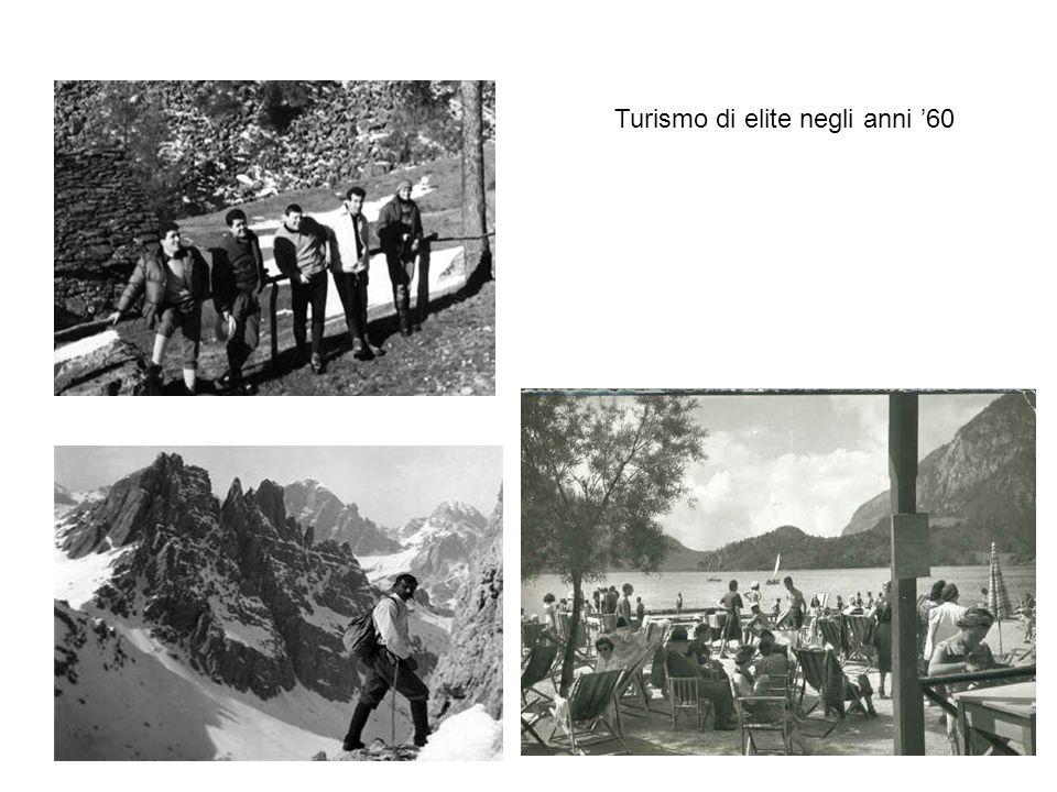 Turismo di elite negli anni '60
