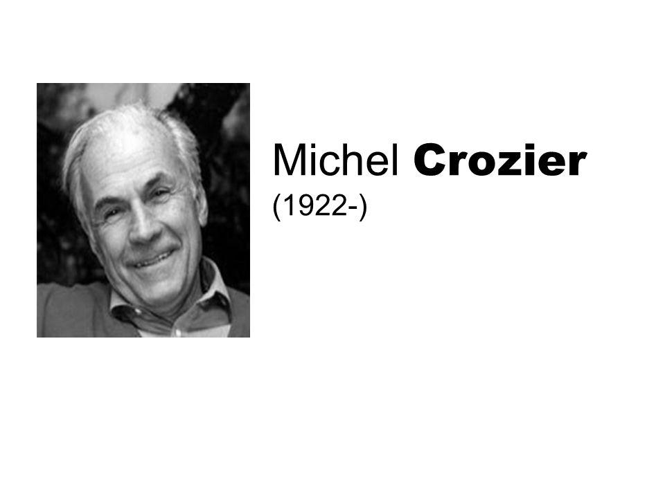 Michel Crozier (1922-)
