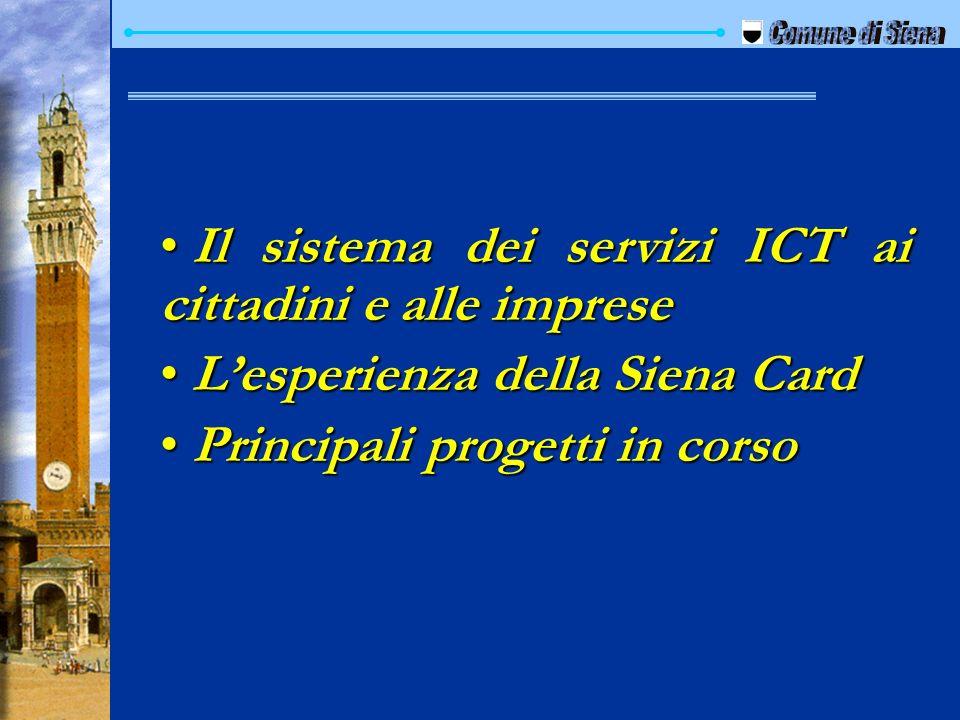 Il sistema dei servizi ICT ai cittadini e alle imprese